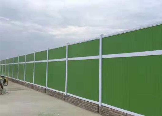 绿色pvc围挡